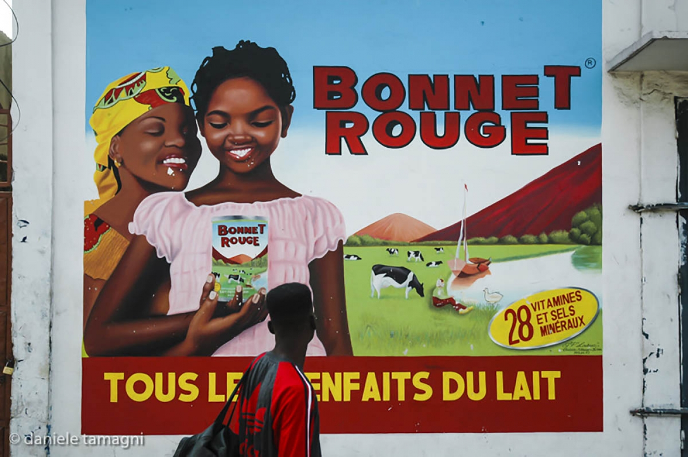 Bonnet Rouge from the series African Brands Walls Image