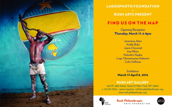 "LagosPhoto Foundation and Rush Art Gallery present ""Find Us On The Map""  Image"