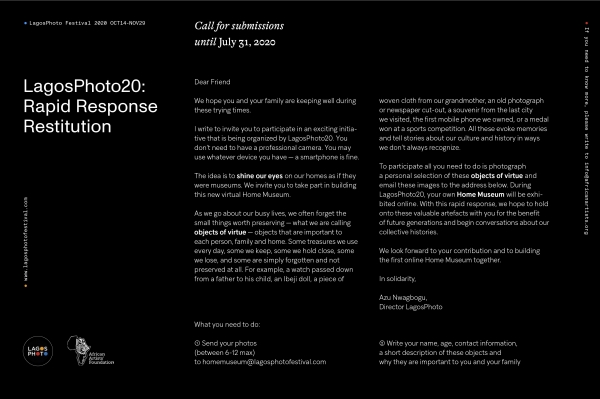 OPEN CALL - HOME MUSEUM Image