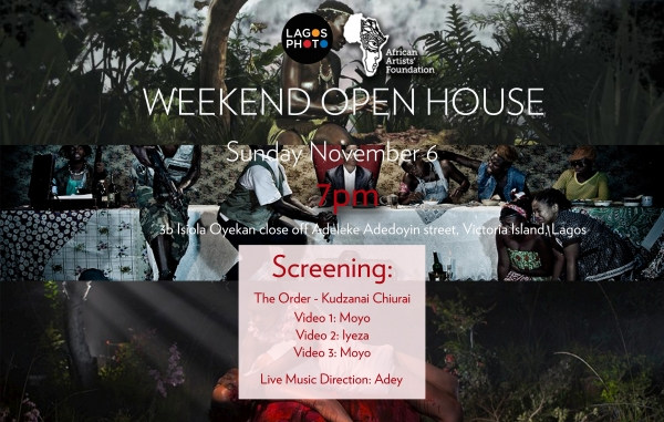 WEEKEND OPEN HOUSE (THE ORDER) Image
