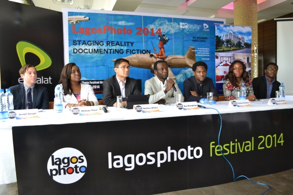 LagosPhoto Press Conference Image
