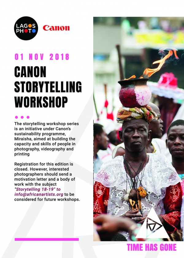 Canon Storytelling Workshop Image