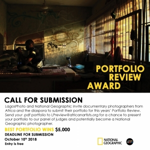 LagosPhoto x National Geographic Portfolio Review Image