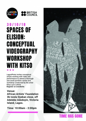 Spaces Of Elison: Conceptual Videography Workshop With Kitso Image